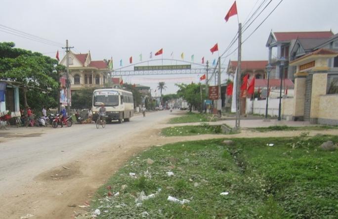 Khu vực xảy ra vụ hỗn chiến khiến 2 thanh niên trọng thương.