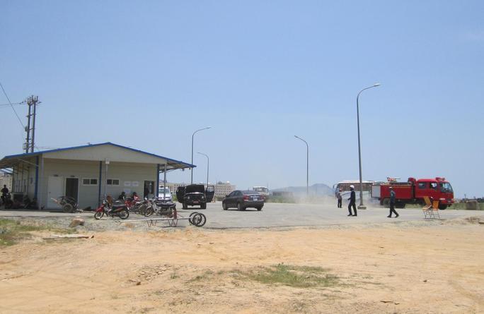 Tình hình an ninh trật tự tại Khu kinh tế Vũng Áng đã ổn định trở lại.
