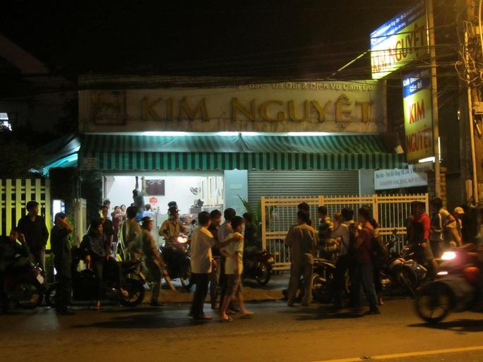 Tiệm vàng Kim Nguyệt nơi xảy ra vụ cướp.