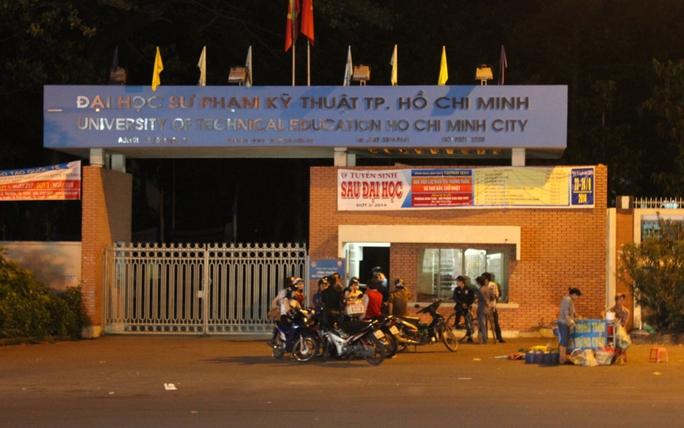 Trường ĐH Sư Phạm Kỹ thuật TP HCM, nơi xảy ra vụ việc.