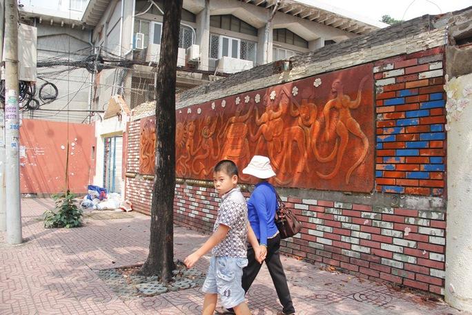 Căn biệt thự do ông Huỳnh Uy Dũng đứng tên đã tháo dỡ xong
