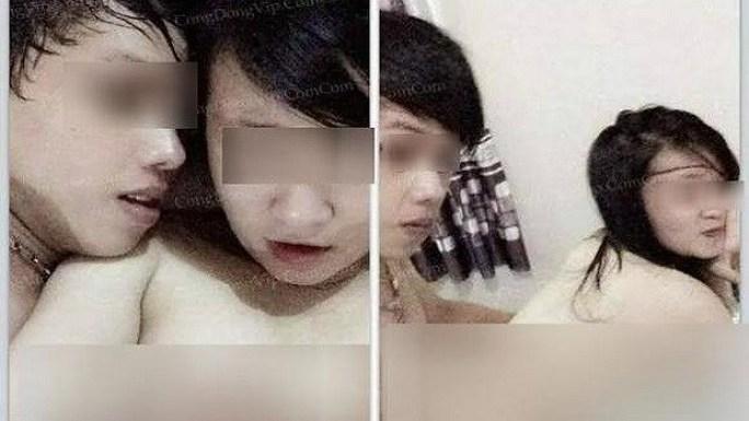 Hai tấm ảnh nóng mà Danh tung lên mạng
