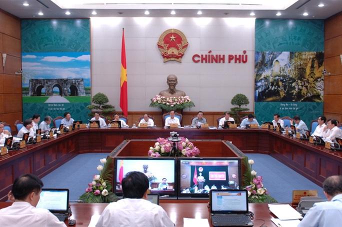 Quang cảnh phiên họp Chính phủ tháng 6