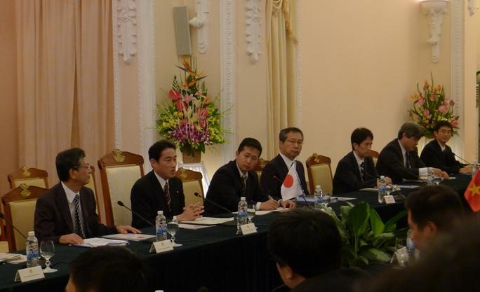 Chuyến thăm của Ngoại trưởng Nhật Bản Fumio Kishid nhằm tăng cường hợp tác về nhiều vấn đề khác nhau liên quan đến lợi ích song phương của hai nước, trong đó có an ninh hàng hải