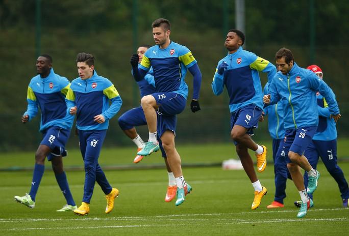Chấn thương nặng, Wilshere lỡ đại chiến với Dortmund