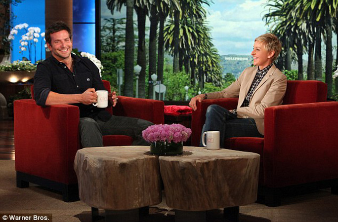 Bradley Cooper và Ellen