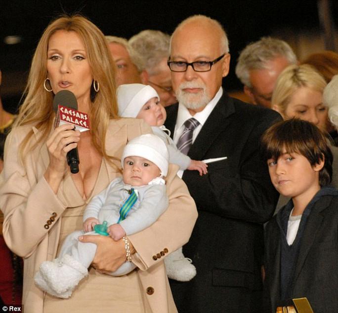 Gia đình hạnh phúc của Celine Dion