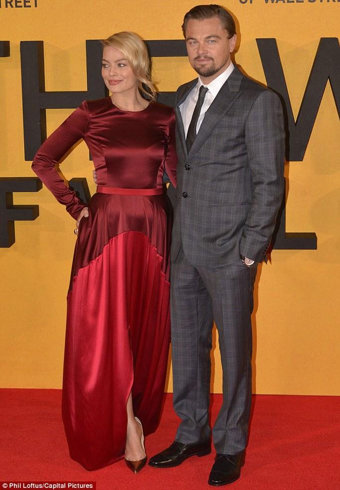Margot Robbie và Leonardo