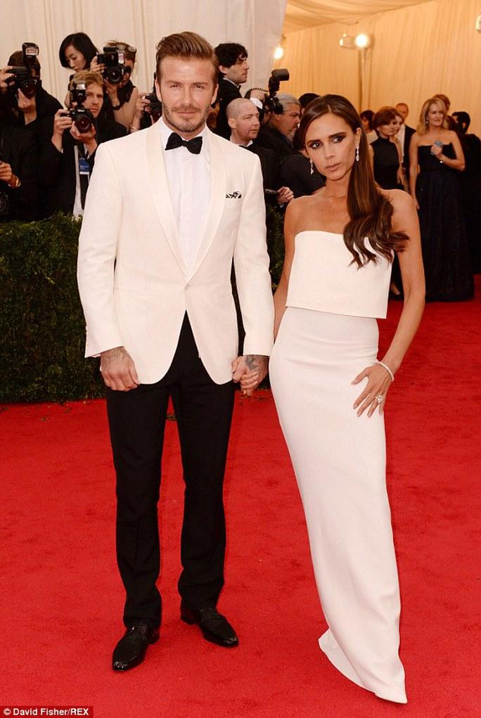 David Beckham và vợ