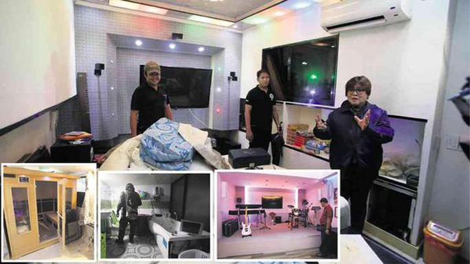 Hình ảnh các phòng giam hiện đại có nhạc cụ, máy lạnh, phòng tắm hơi và máy vi tính. Ảnh: News.com.au