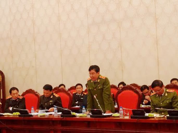 Trung tướng Trần Trọng Lượng, Phó Tổng Cục trưởng Tổng Cục cảnh sát phòng chống tội phạm