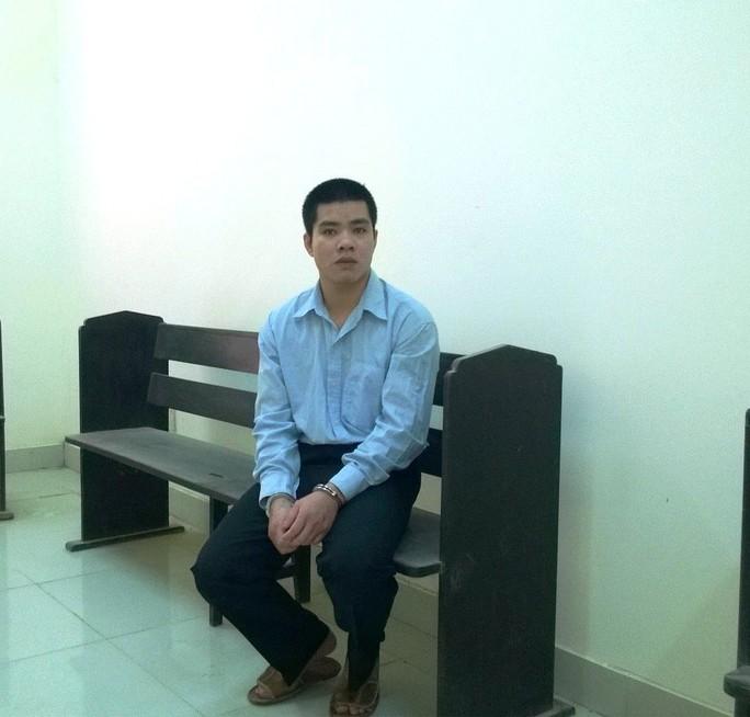 Bị cáo Lê Văn Lập tại phiên tòa