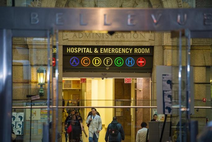 Bệnh việnBellevue - nơi bác sĩ nhiễm Ebola đang được cách ly