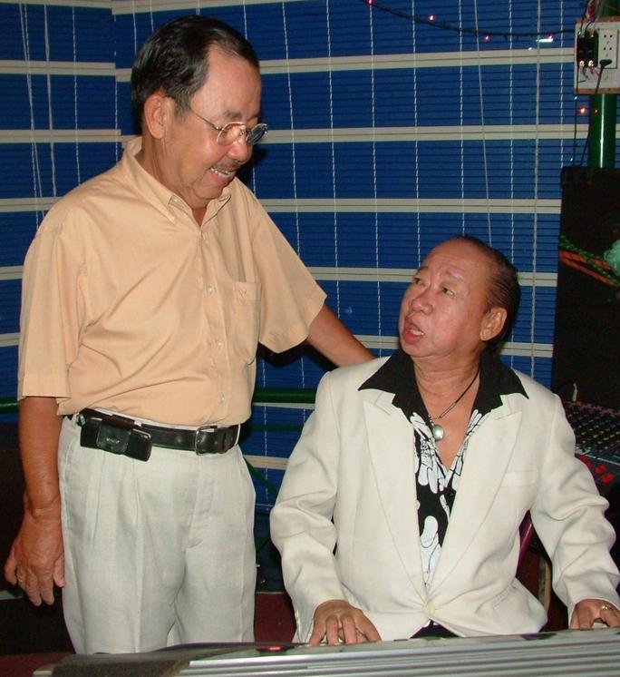 Danh hài Thanh Hoài và danh hài Tùng Lâm. Ảnh: Thanh Hiệp