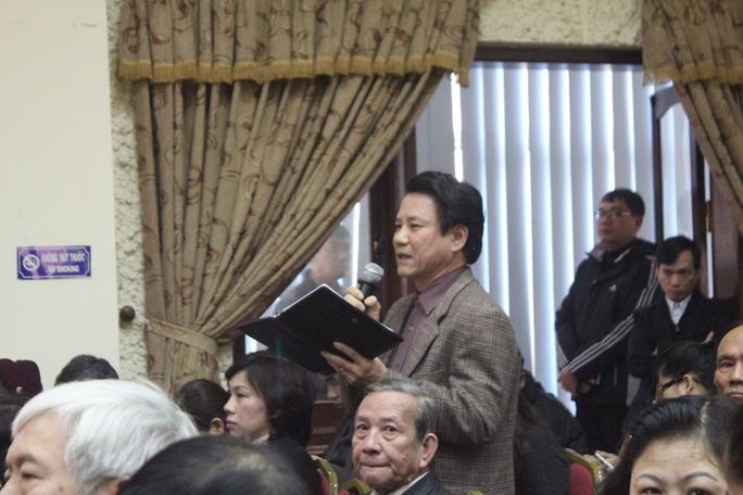 Cử tri Nguyễn Minh Trung đề xuất không nên có vùng cấm trong chống tham nhũng