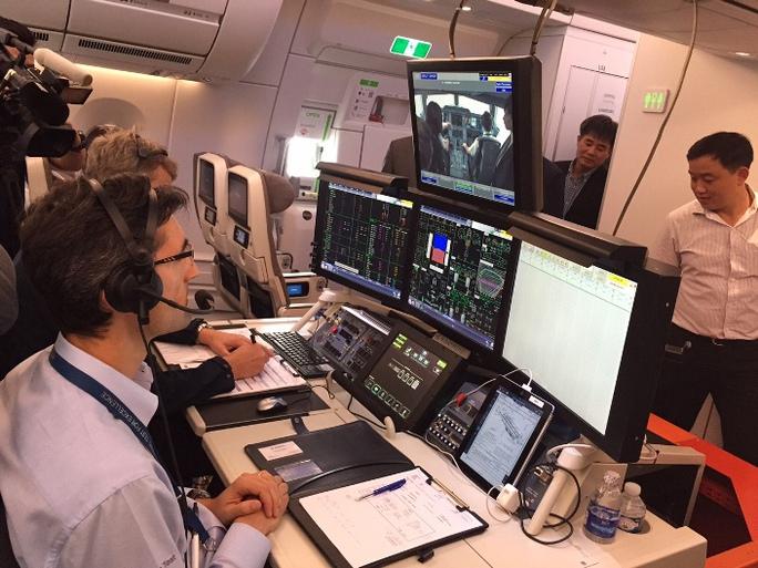 Trung tâm kiểm soát máy bay có thiết bị mô phỏng buồng lái, cân bằng trọng tải