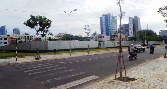 Dự án Viễn Đông Meridian Tower đã chây ỳ nhiều năm ở trung tâm Đà Nẵng.