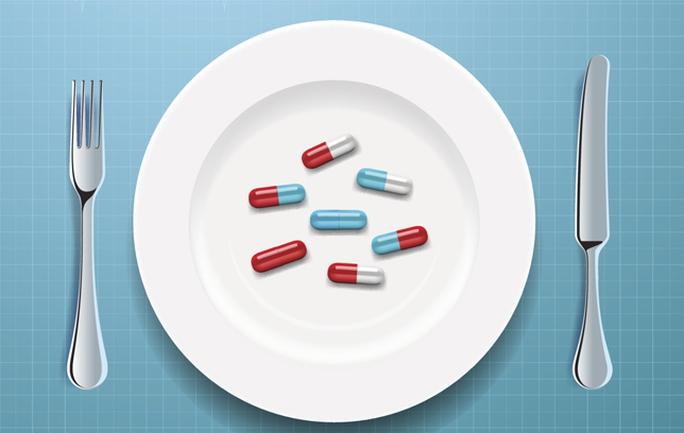 Cẩn thận khi dùng thức ăn trong thời gian uống thuốc.