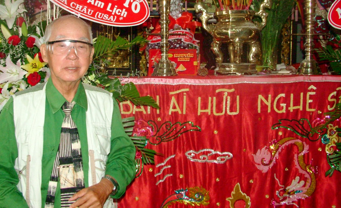 Nhà thơ kiêm soạn giả Kiên Giang