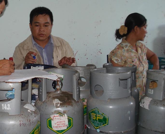 Giá gas bán lẻ oại 12 kg/bình của SP là 430.000 đồng/bình từ ngày 1-2