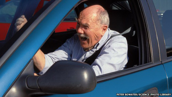 Nguy cơ bị cơn đau tim hoặc đột quỵ tăng cao trong vòng 2 giờ sau cơn giận - Ảnh: BBC