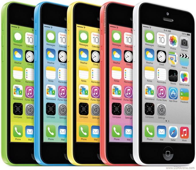 Việc không đảm bảo doanh số bán ra của iPhone 5C được cho là nguyên nhân khiến dòng sản phẩm này sẽ phải ngưng sản xuất trong thời gian tới. Ảnh Internet