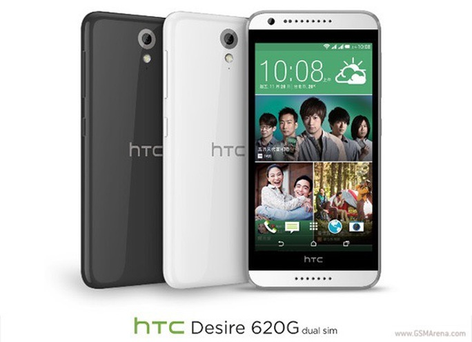 HTC Desire 620 tầm trung ra mắt