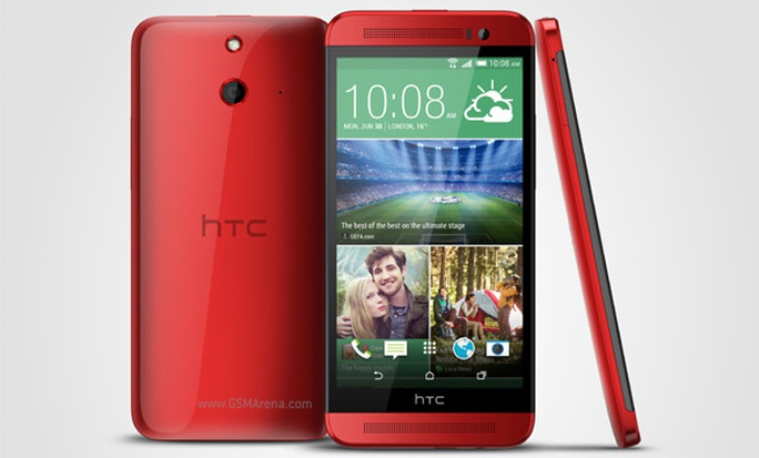 HTC One E8 – bản vỏ nhựa của One (M8) ra mắt