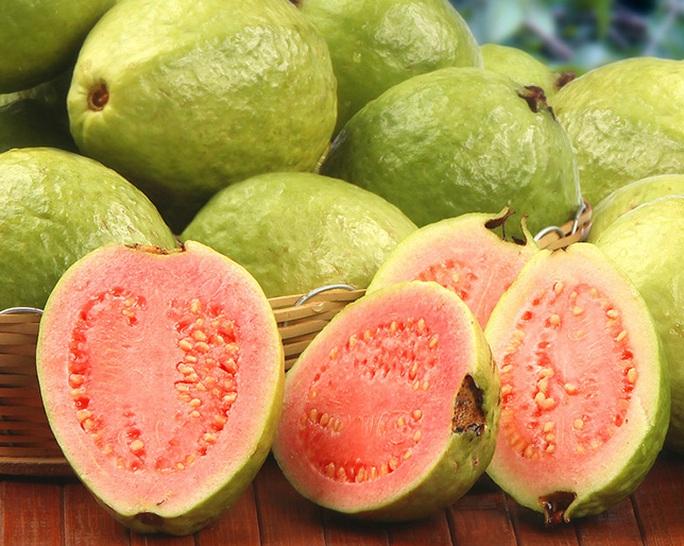 Ổi là nguồn thực phẩm tuyệt vời cung cấp lycopene và chất chống ôxy hóa ngừa ung thư