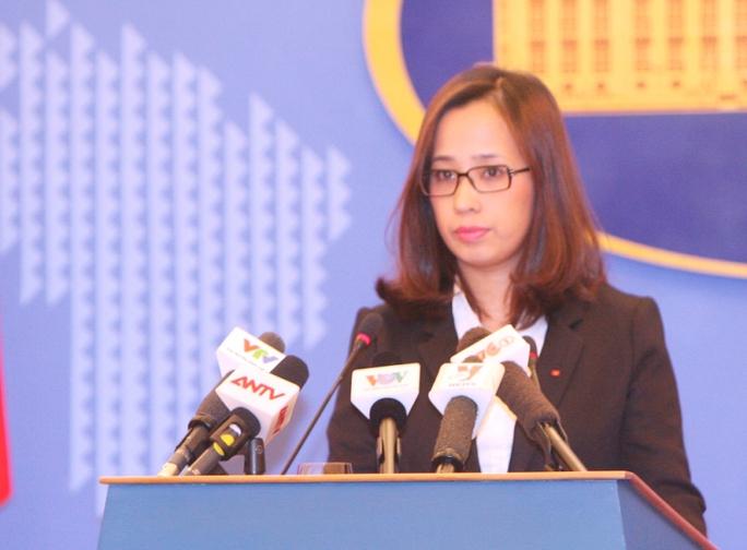 Phó Phát ngôn Bộ Ngoại giao Việt Nam Phạm Thu Hằng