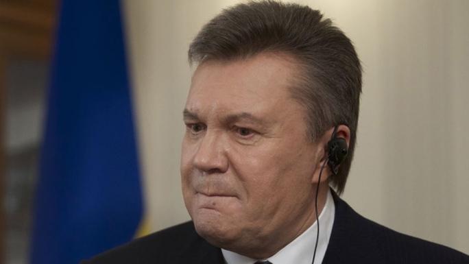 Ông Viktor Yanukovych tại cuộc trả lời phỏng vấn hôm 2-4. Ảnh: AP