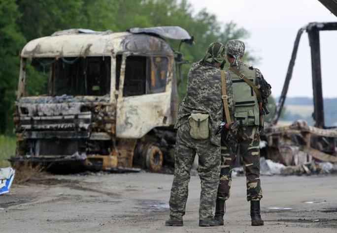 Cuộc giao tranh đã nổ ra khi phe nổi dậy từ chối hạ vũ khí. Ảnh: Reuters