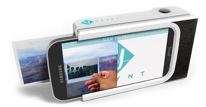 Vỏ bảo vệ tích hợp máy in màu cho smartphone
