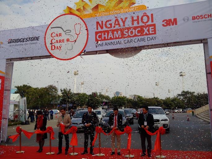 Ngày hội chăm sóc xe tại Hà Nội