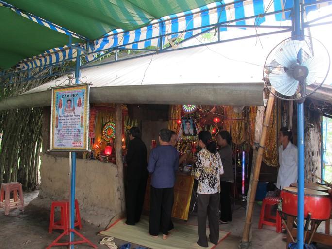 Nhà nạn nhân Nguyễn Minh Phương thiếu trước hụt sau