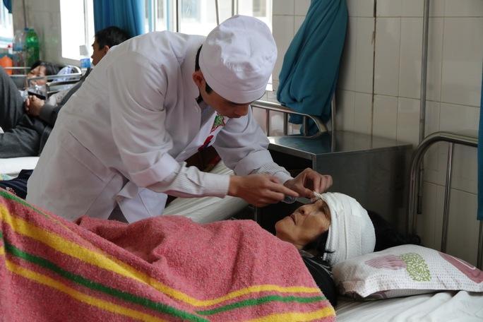 Các nạn nhân chủ yếu bị đa chấn thương, gãy xương tay chân...