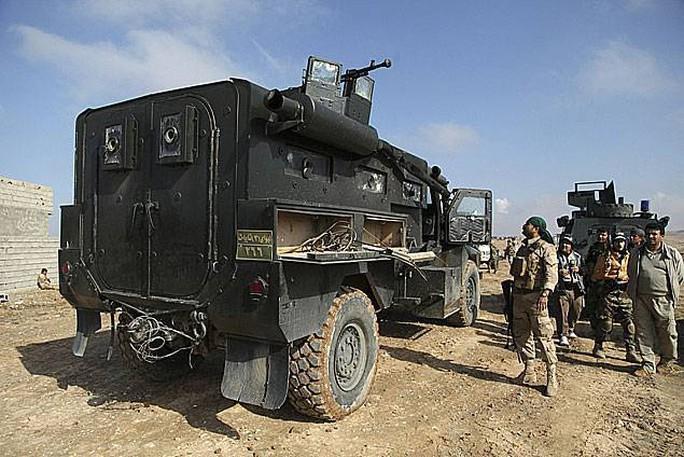 Lực lượng an ninh Iraq giành lại quyền kiểm soát các khu vực gần biên giới với Iran. Ảnh: REUTERS
