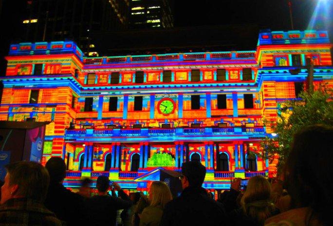 Lễ hội ánh sáng tại Sydney. Ảnh: Across Oceania