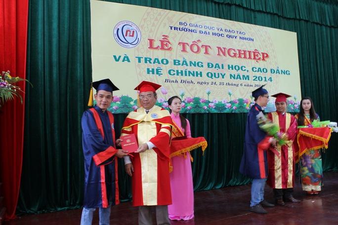 Lễ phát bằng tốt nghiệp cho sinh viên khóa 33 ĐH Quy Nhơn