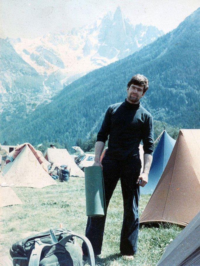 Nhà leo núi Jonathan Conville. Ảnh: ABC News
