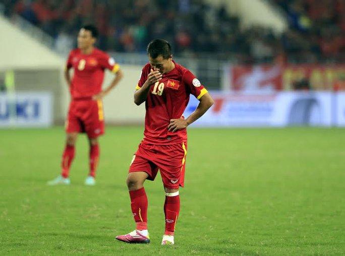 Thất bại ở AFF Cup 2014 khiến Thành Lương không thể lọt vào tốp 10