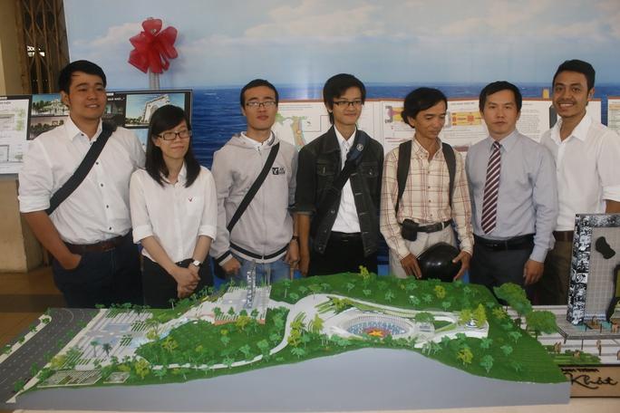 Nhóm tác giả thực hiện đồ án Hành trình khát vọng của Trung tâm nghiên cứu kiến trúc TP HCM