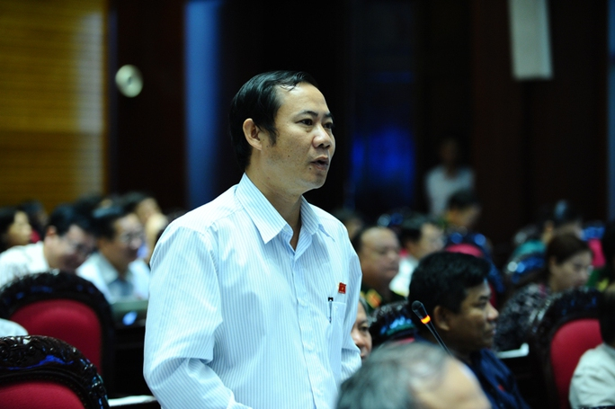 ĐB Nguyễn Thái Học (Phú Yên) nhấn mạnh đến tình trạng nợ đọng văn bản