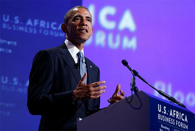 Mỹ muốn vượt mặt Trung Quốc ở châu Phi