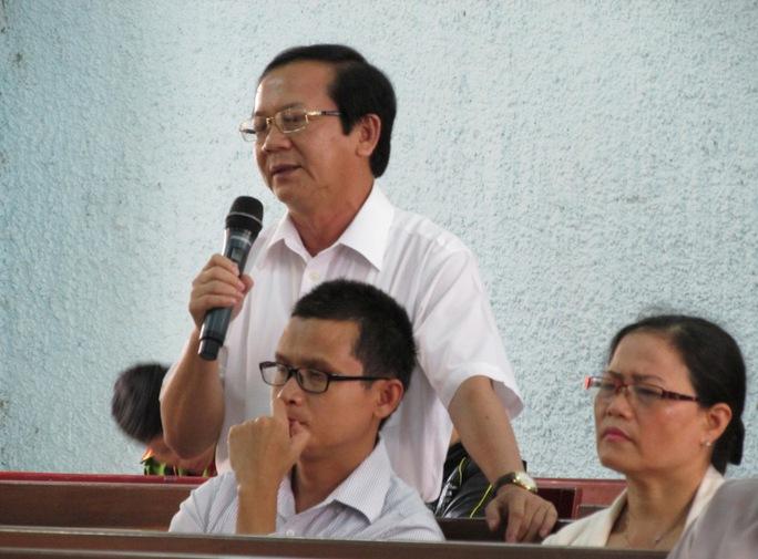 Ông Trần Thế Vinh, nguyên Giám đốc Sở Kế hoạch và Đầu tư tỉnh Gia Lai phủ nhận việc giúp đỡ một dự án nào