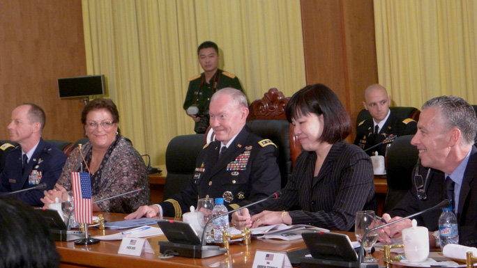 Đại tướng Martin Dempsey khẳng định mặc dù còn nhiều kế hoạch công tác nhưng ông đã nói với các cộng sự và những người dưới quyền mình rằng chuyến đi đến Việt Nam nhất thiết phải diễn ra