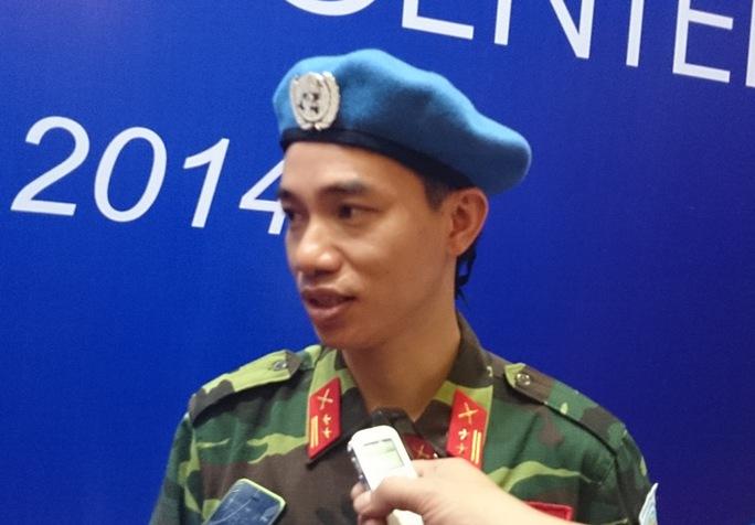 Trung tá Trần Nam Ngạn