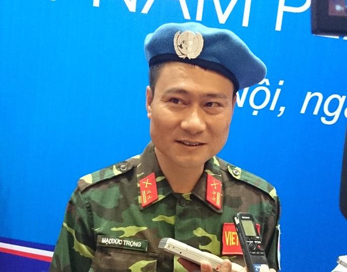 Trung tá Mạc Đức Trọng