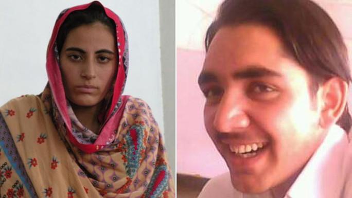 Rukhsana Bibi (trái) sớm thành góa phụ ở tuổi 18 sau khi người chồng Mohammad Yunus bị sát hại. Ảnh: BBC