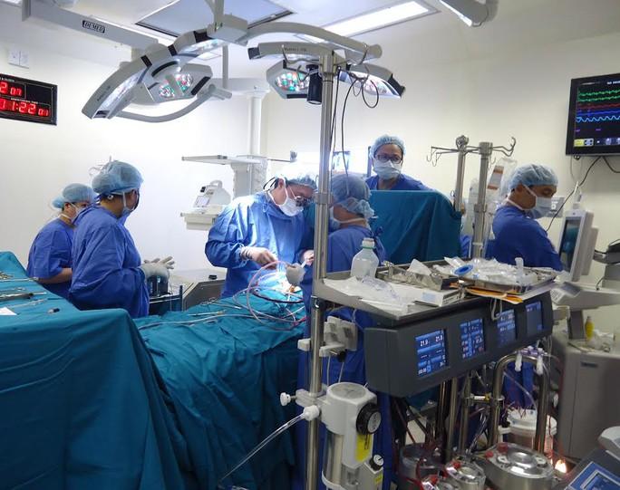 Một ca mổ tim bẩm sinh tại Bệnh viện Hoàn Mỹ Sài Gòn